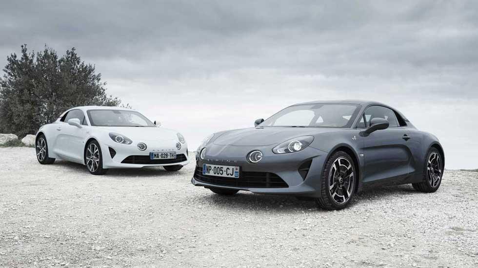Alpine A110 Pure y Légende, nuevas versiones especiales del deportivo francés