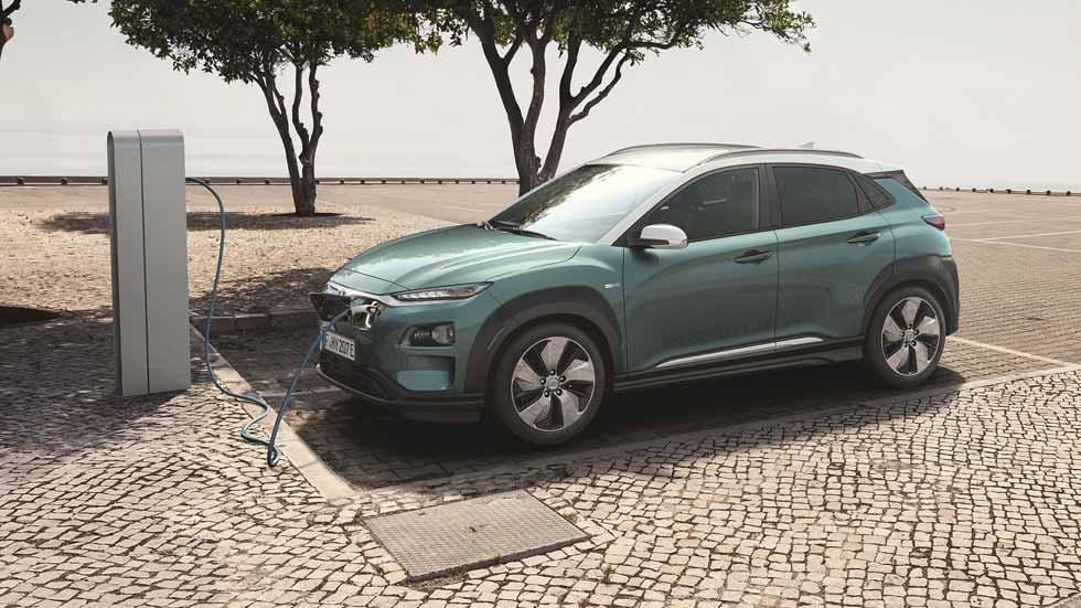 Hyundai Kona EV: todos los datos y fotos del nuevo SUV eléctrico