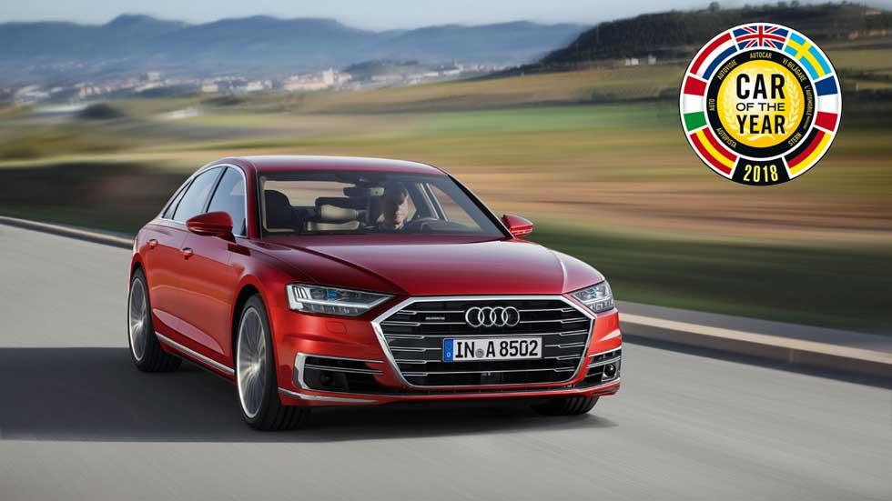Coche del Año en Europa 2018: opiniones y claves del finalista Audi A8
