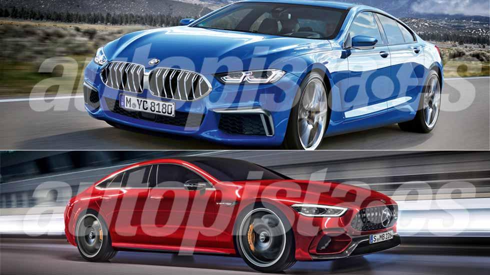 De otro planeta: BMW Serie 8 Gran Coupé y Mercedes-AMG GT Coupé