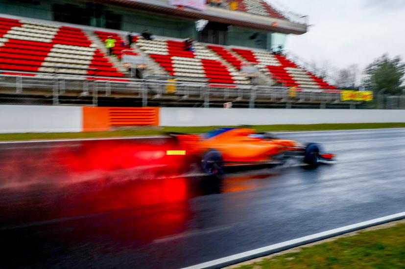 Test F1 Barcelona (miércoles): Alonso fue el único en marcar un tiempo