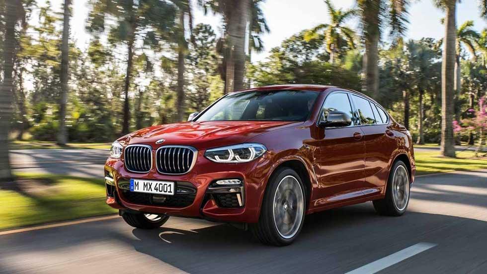 BMW X4 2018: todos los precios para España del nuevo SUV coupé