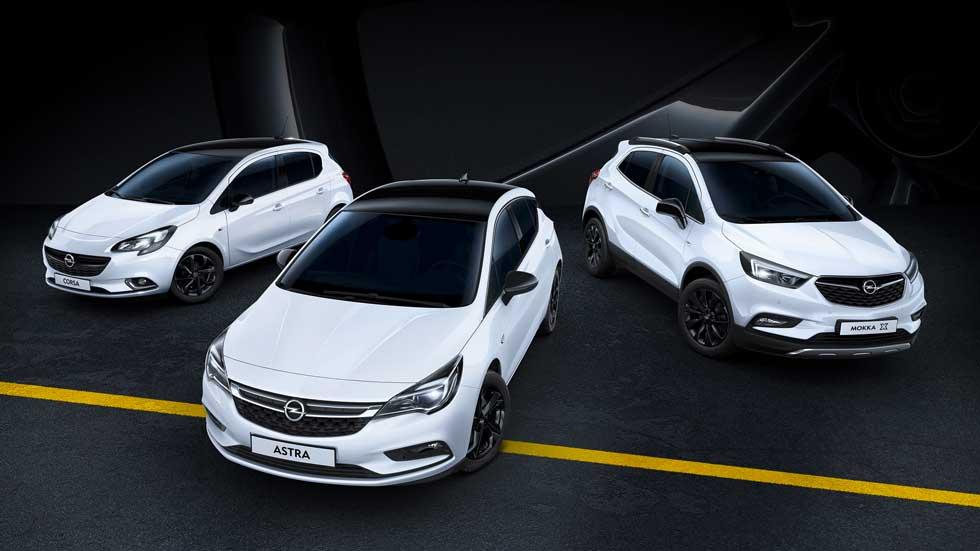 Opel Black Edition, elegancia de color negro para toda la gama