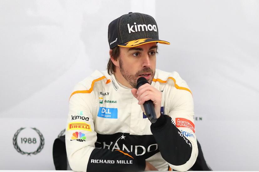 Test F1 Barcelona (jueves): Fernando Alonso contento tras finalizar los test
