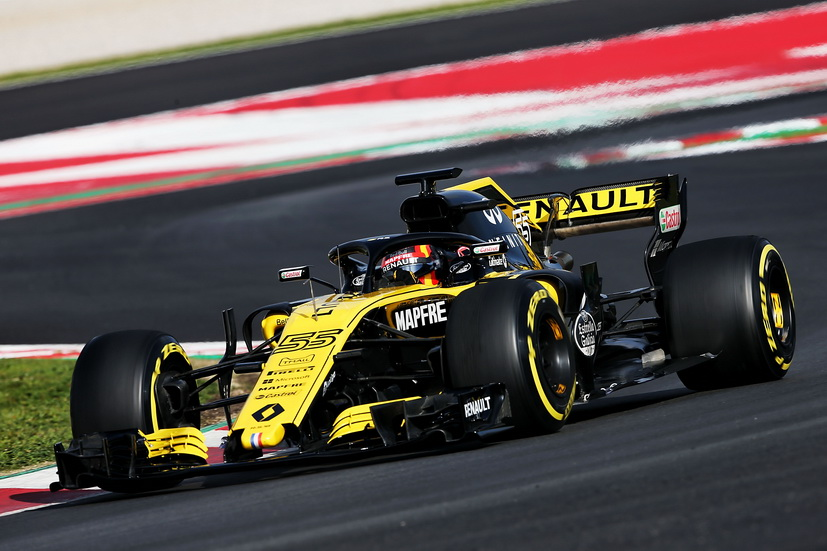 Test F1 Barcelona (jueves): Carlos Sainz dio 60 vueltas con el Renault