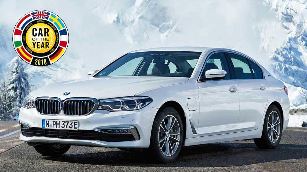 Coche del Año en Europa 2018: opiniones y claves del finalista BMW Serie 5