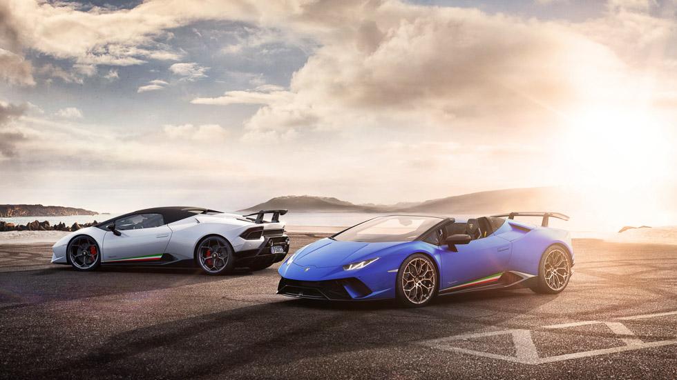 Lamborghini Huracán Performante Spyder, es el cabrio más rápido del mundo