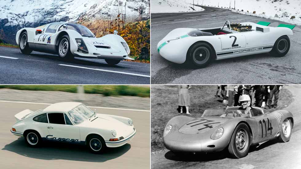 Los Porsche más ligeros de la historia