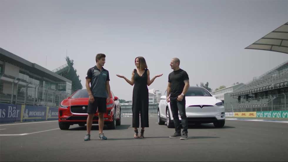 Carrera de aceleración: Jaguar i-Pace vs Tesla Model X