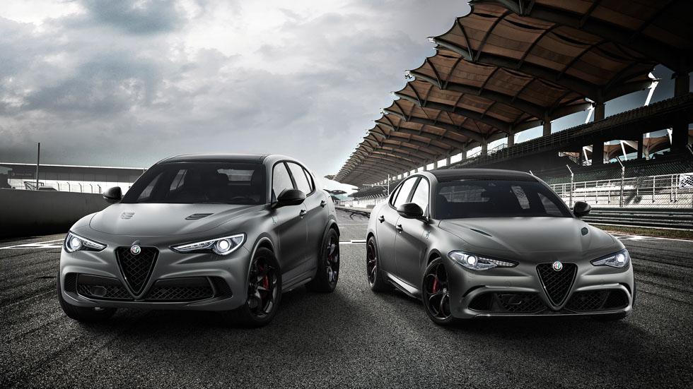 Alfa Stelvio y Giulia Quadrifoglio NRING: dos ediciones con pedigrí en Ginebra 2018