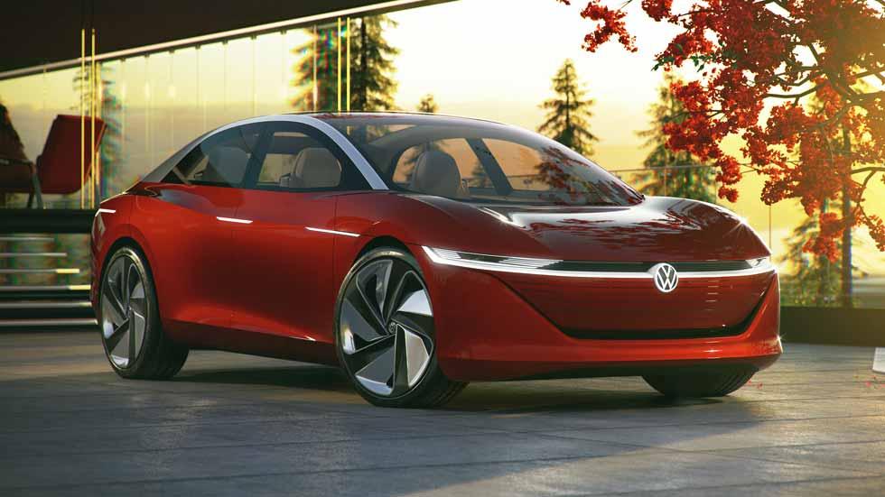 VW I.D. Vizzion: la berlina del futuro será eléctrica y autónoma