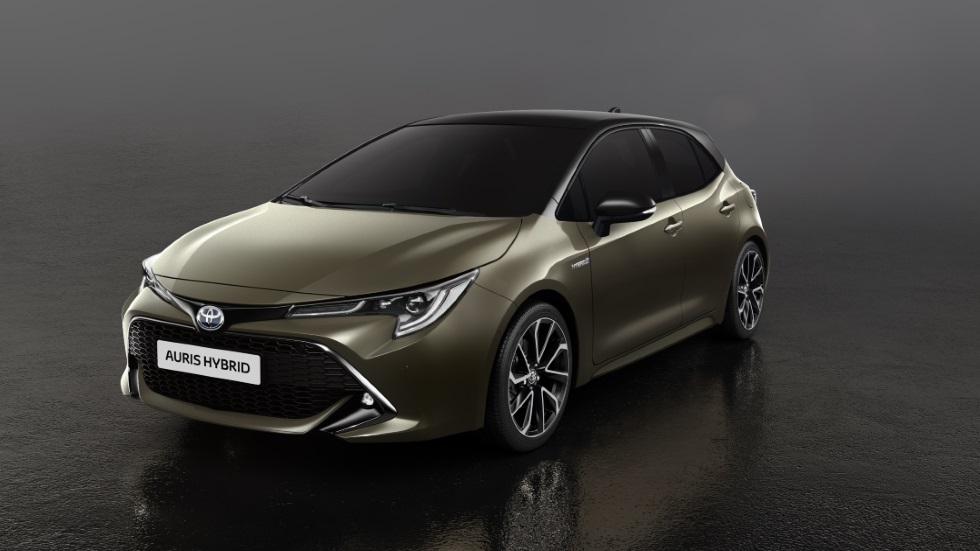 Toyota Auris 2018: fin al Diesel y doble versión híbrida