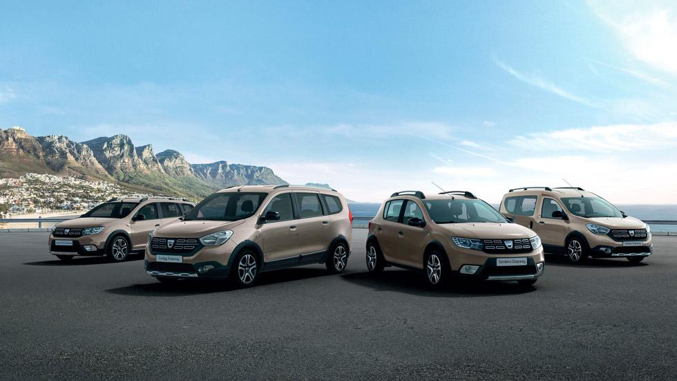 Dacia tendrá versiones Stepway de estilo SUV en toda su gama