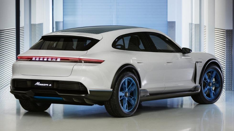 Porsche Mission E Cross Turismo: el gran SUV coupé eléctrico, en 2019