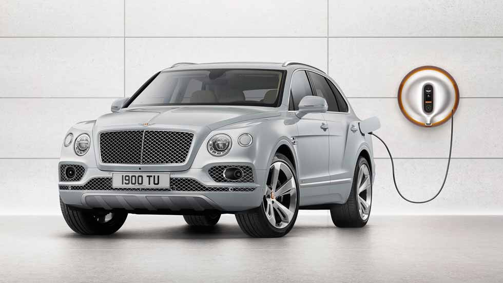 Bentley Bentayga Hybrid: el SUV de lujo, también en versión híbrida plug-in