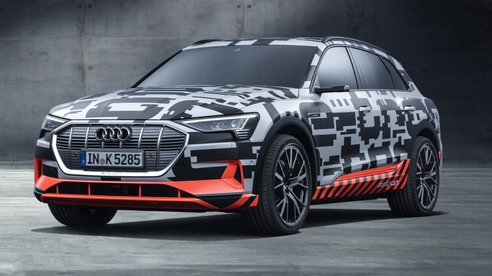 Audi e-tron Prototype: el primer coche eléctrico de Audi en 2018, este SUV
