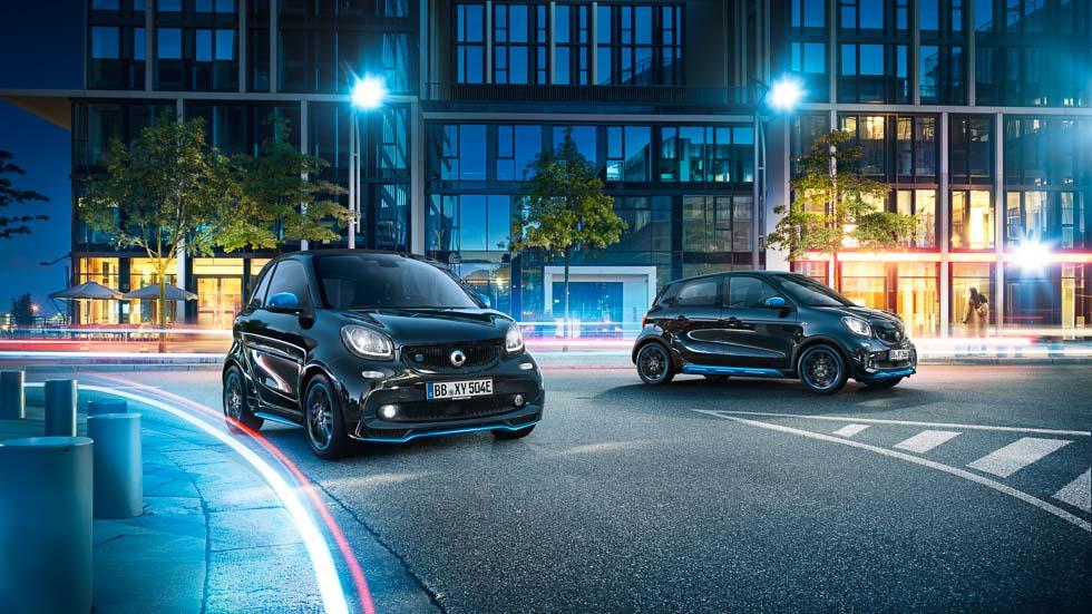 Smart EQ fortwo y forfour nightsky: preámbulo de la nueva marca EQ de Mercedes