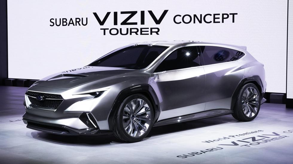 Subaru Viziv Tourer Concept: así serán los Subaru familiares del futuro
