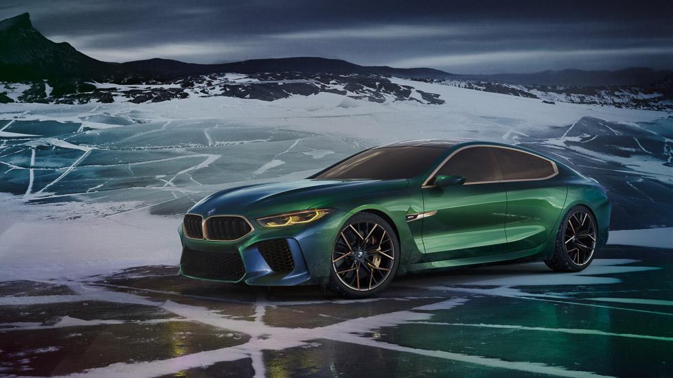 BMW M8 Gran Coupé Concept: el primero en llegar del nuevo Serie 8