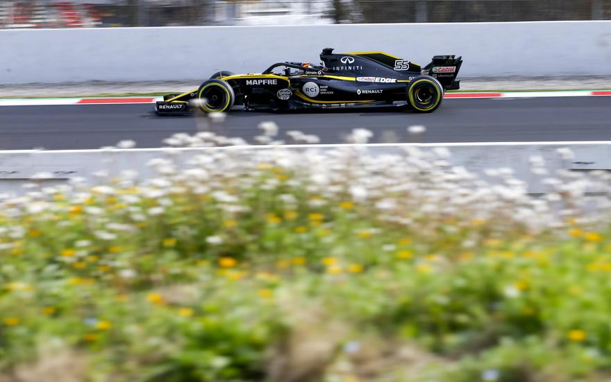 Test F1 Barcelona (martes 6-3): Sainz hace una simulación de carrera