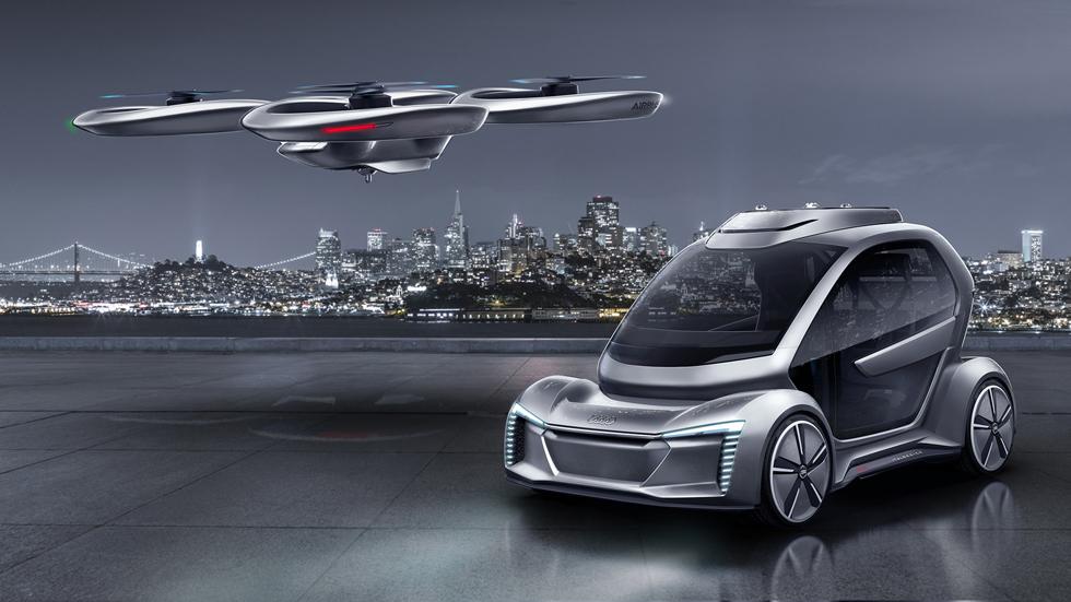 Así es el dron para llevar personas de Audi, Airbus e ItalDesign