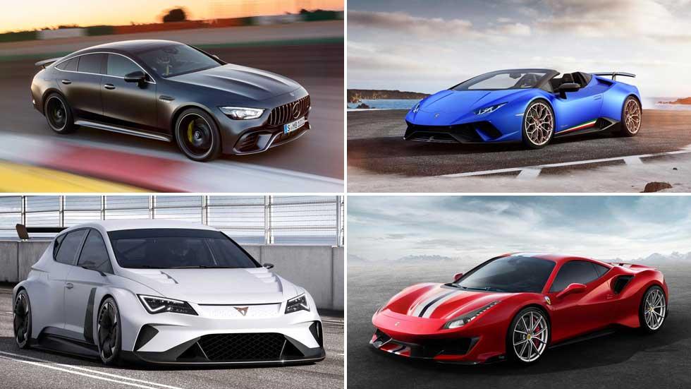 Los mejores deportivos del Salón de Ginebra 2018, en VÍDEO: M8, AMG GT Coupé...