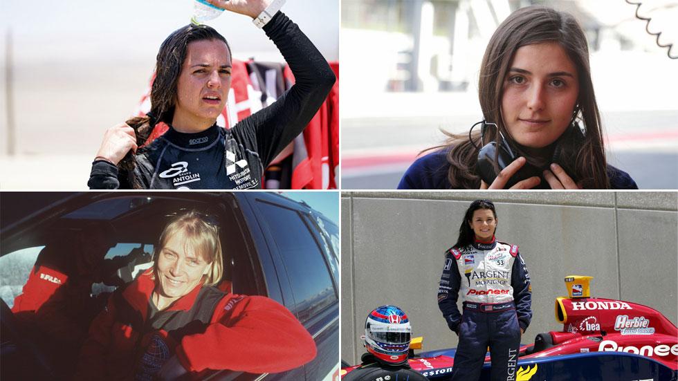 """Mujeres """"guerreras en competición"""": las pilotos más reconocidas"""