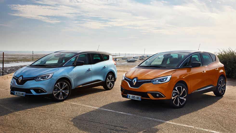 Renault Scénic y Grand Scénic, con el nuevo motor de gasolina de 1,3 litros