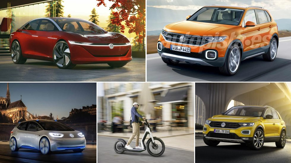 Los planes secretos de VW: 9 SUV, adiós al Beetle, 5 eléctricos, un scooter…