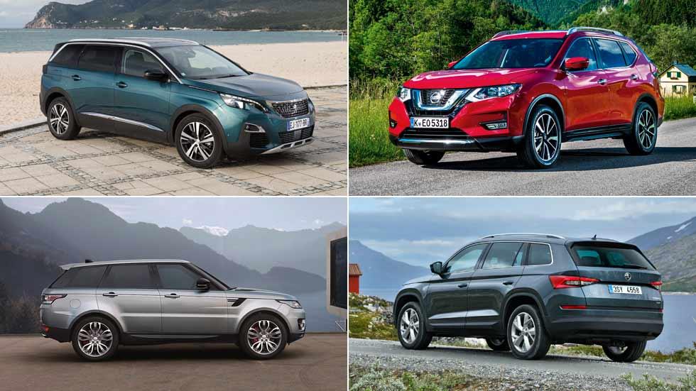 Todos los SUV de 7 plazas para comprar: 5008, Kodiaq, Santa Fe…