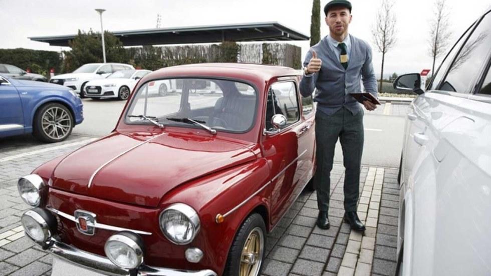 Sergio Ramos estrena un Seat 600, uno de los clásicos más populares