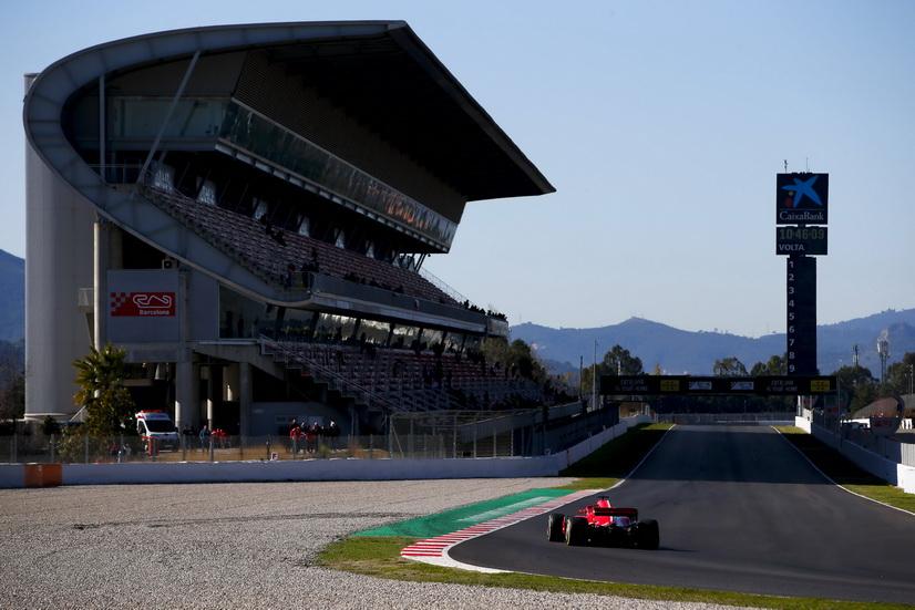 Test F1 Barcelona (jueves 8-3): Vettel bate el récord oficioso del Circuit de Catalunya