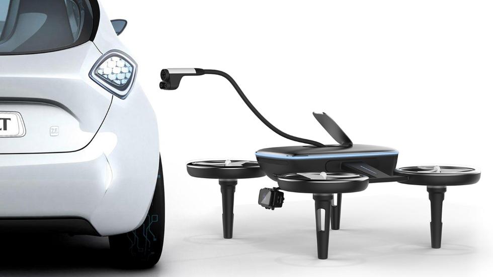 Volt: el dron que recargará tu coche eléctrico allí donde estés
