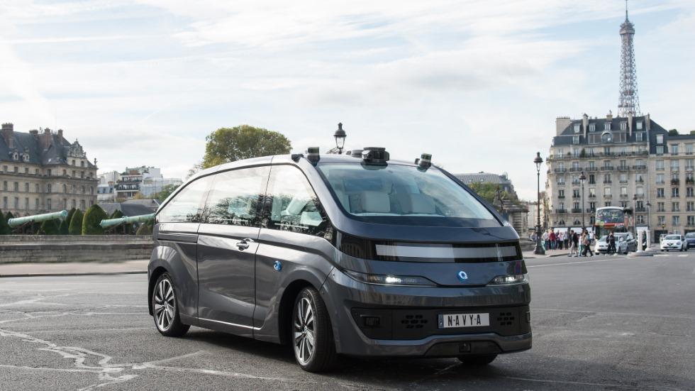 Navya Autonom Cab: el primer vehículo autónomo del mundo que puedes comprar