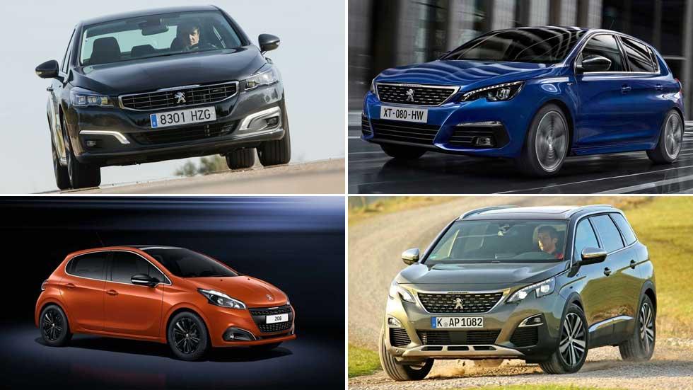 Súper ofertas limitadas: Peugeot 208, 2008, 308, 3008, 508 o 5008, ¡al mejor precio!
