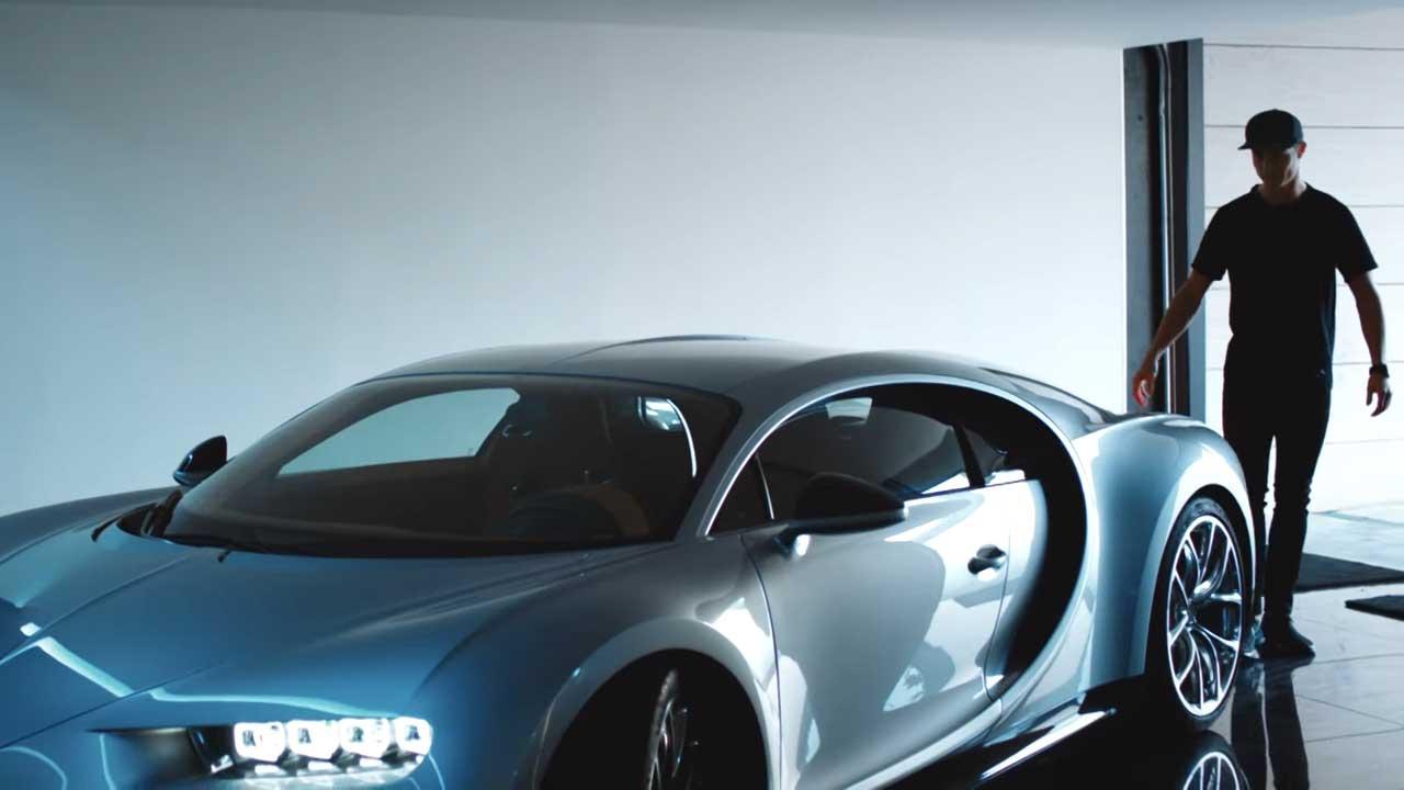 Así es el Bugatti Chiron de Cristiano Ronaldo (Vídeo)