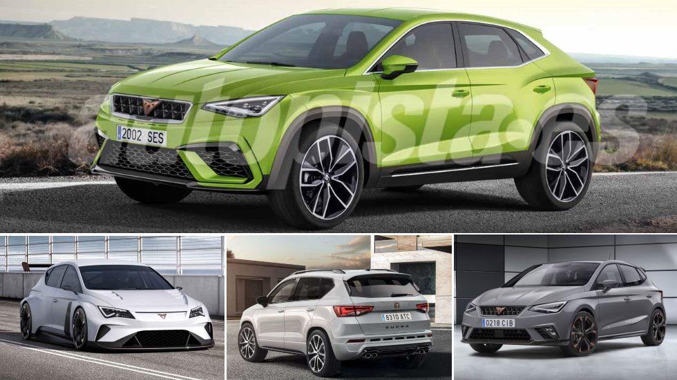 Las novedades secretas de Cupra: Ateca, Ibiza, Arona, León… y un SUV coupé