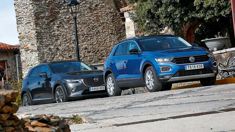 Revista Autopista 3046: VW T-Roc vs Mazda CX-3, dos SUV con estilo propio
