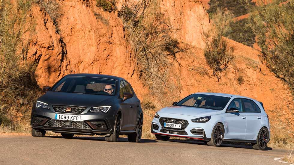 Seat León Cupra R vs Hyundai i30 N: ¿cuál es el mejor compacto deportivo?