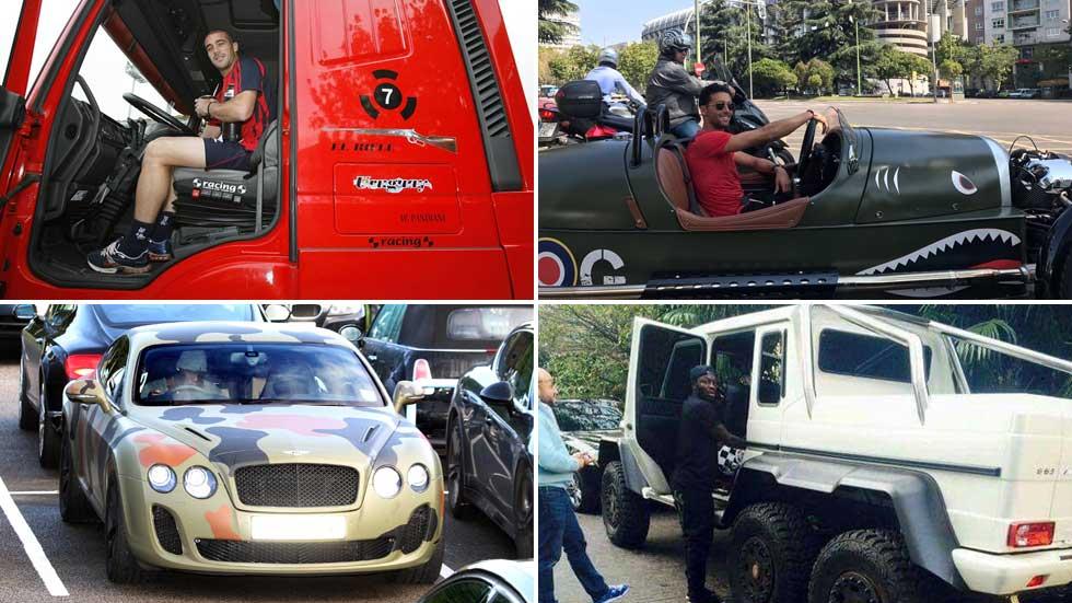 Del 600 de Ramos al camión de Pandiani: los coches más raros de los futbolistas