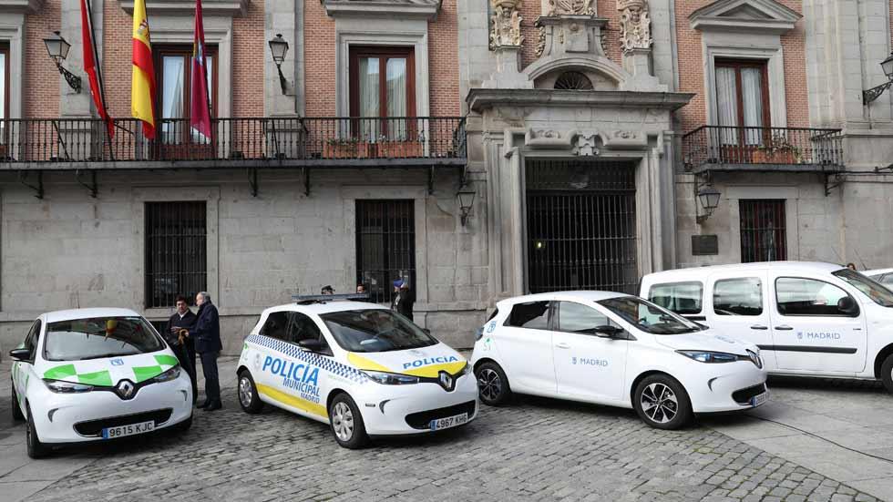 Estos son los nuevos coches del Ayuntamiento y la Policía de Madrid