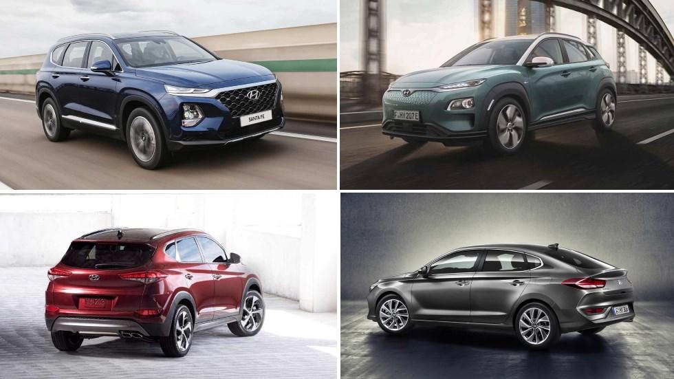 Revolución en Hyundai: nuevos i40, Tucson, Santa Fe, Kona EV, i30 Fastback…