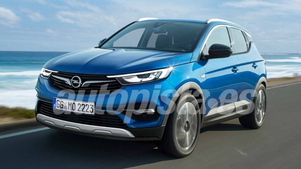 opel mokka x 2019 as ser el nuevo suv con base del futuro peugeot 2008 novedades. Black Bedroom Furniture Sets. Home Design Ideas