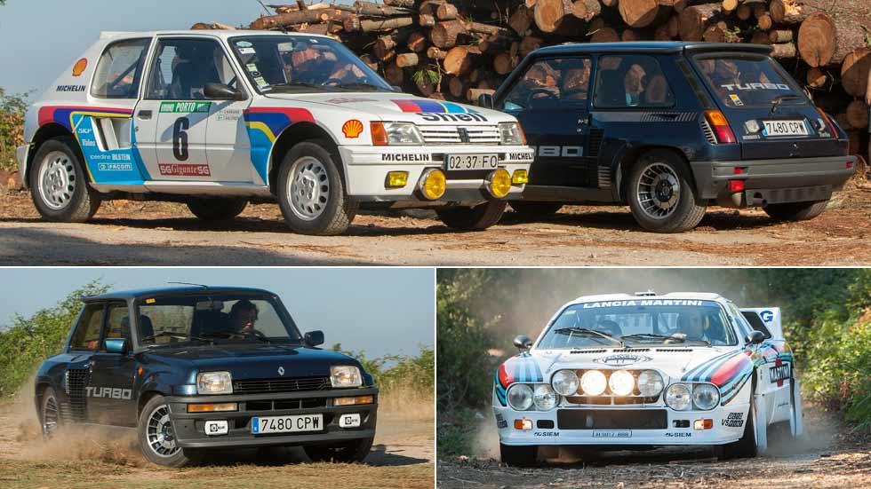 Los mejores Grupo B (parte 1): Lancia 037, Renault 5 Turbo y Peugeot 205 T16