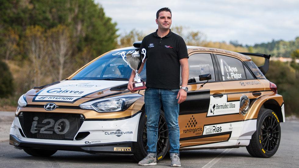 Entrevistamos a Iván Ares, campeón del Nacional de Rallyes de Asfalto en 2017
