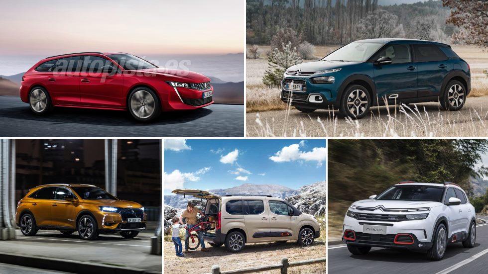 El órdago de Peugeot, Citroën y DS: nuevos C4 Cactus, C5 Aircross, 508, 3008…
