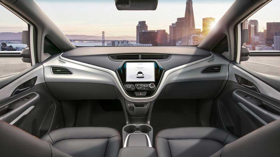 GM empezará a producir su coche autónomo sin pedales ni volante en 2019