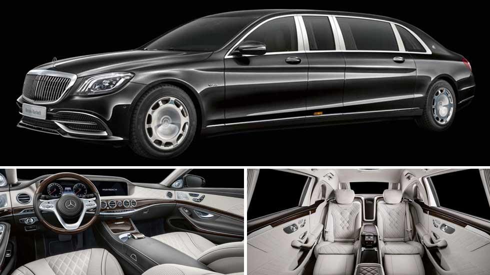 Mercedes-Maybach Pullman 2018: lujo infinito de más de 6 metros