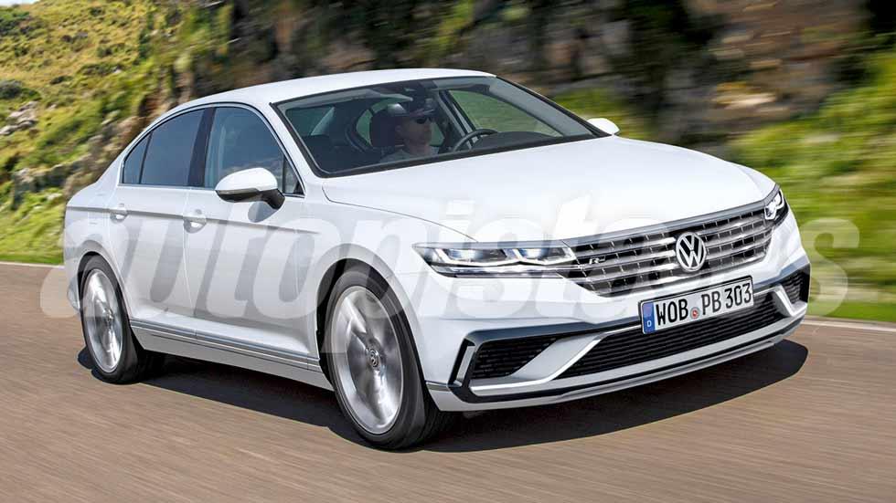 VW Passat 2018: primeros datos y fotos de la berlina que llega este año