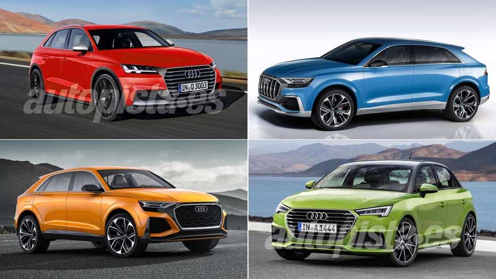 Audi A1, SQ2, Q3 y Q8: las próximas grandes novedades de Audi